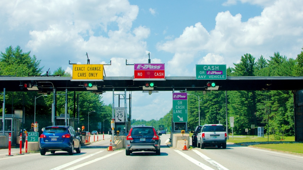 E-ZPass Toll Plaza
